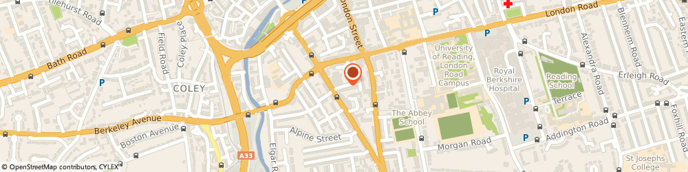 Route/map/directions to Secure Records & Data Management, RG1 2SS Reading, 9 Upper Crown Street