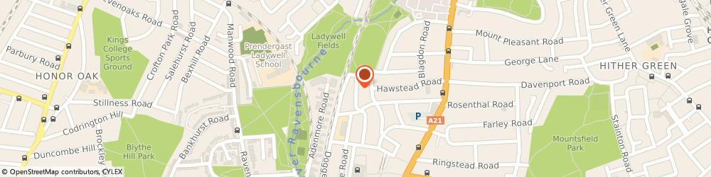 Route/map/directions to Peter Farnley Garden Services, SE6 4QT London, 128 Silvermere Road