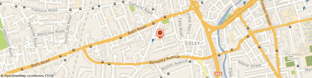 Route/map/directions to Loud-n-Clear.com Ltd, RG1 6AQ Reading, 29 Castle Crescent