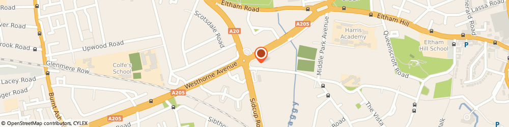 Route/map/directions to Pets at Home Eltham, SE9 5LT London, 400 Westhorne Avenue