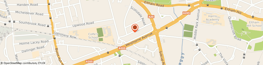 Route/map/directions to J Burge Consulting Limited, SE12 8BJ London, 42 ABERGELDIE ROAD