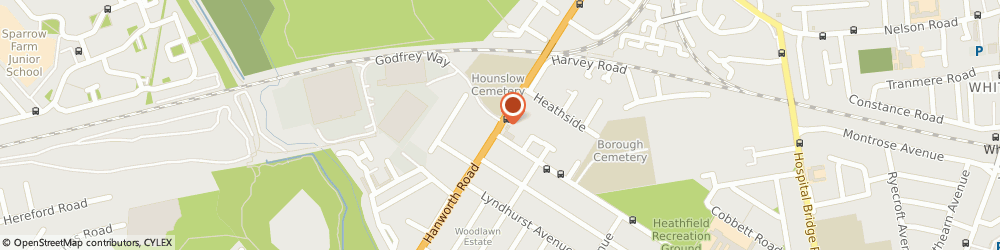 Route/map/directions to Mangal Kebab Restaurant, TW4 5NP Hounslow, 670, HANWORTH ROAD
