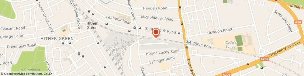 Route/map/directions to Capital Hair & Beauty, SE12 0TX London, Chiltonian Industrial Estate, Manor Lane