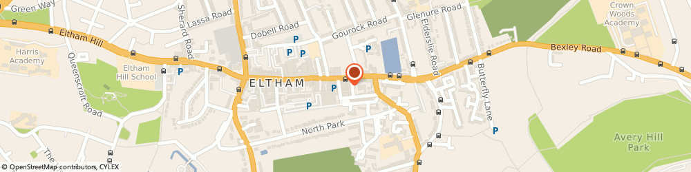 Route/map/directions to Reginald Charles Davis Of Greenwich, SE9 1BD London, 9 The Arcade, Eltham High St