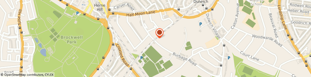 Route/map/directions to Premier Plant Hire, SE24 9HE London, 48A Burbage Road