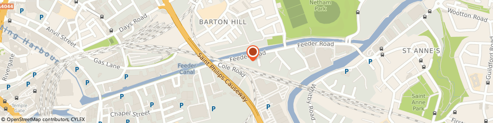 Route/map/directions to Motability Scheme at Heritage SEAT Bristol, BS2 0UB Bristol, 99-101 Feeder Road