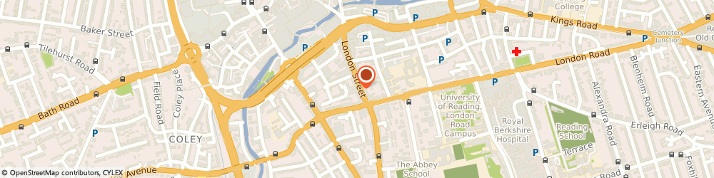 Route/map/directions to Sharp Accounting Solutions, RG1 4PS Reading, 112 London St