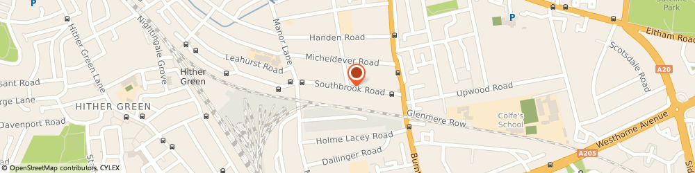 Route/map/directions to Sonic Crew - Lee, SE12 8LH London, 9 Southbrook Road