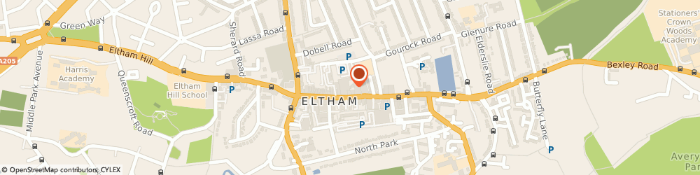 Route/map/directions to Patrick Mcgee Limited, SE9 1TQ London, IVY LODGE 131A, ELTHAM HIGH STREET