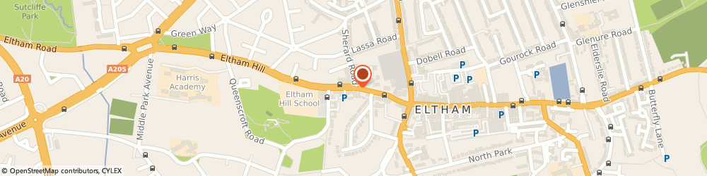 Route/map/directions to Joy & Whitmore, SE9 9EA London, 1 Hill View Studios, 160 Eltham Hill