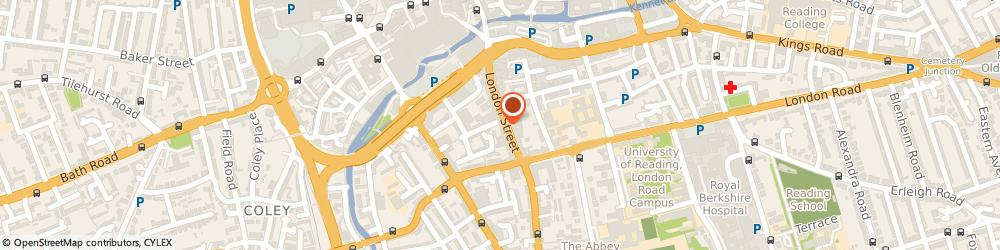 Route/map/directions to Esp Global Services Limited, RG1 4SJ Reading, PRINCE REGENT HOUSE, 108 LONDON STREET