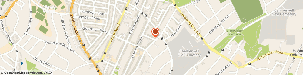 Route/map/directions to The Online Shopping Expert, SE22 0HF London, 17A Crebor Street