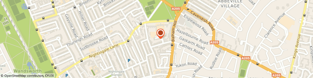 Route/map/directions to Groves Advisory Services Limited, SW12 8ER London, 9 ST. FRANCIS PLACE