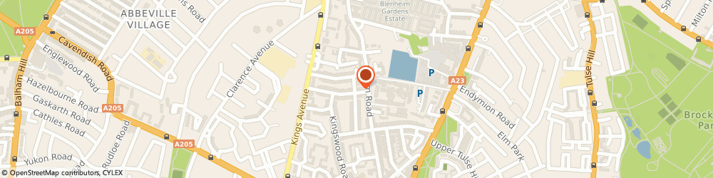 Route/map/directions to The Mr Ben Agency, SW4 7EZ London, 59 Thornbury Road
