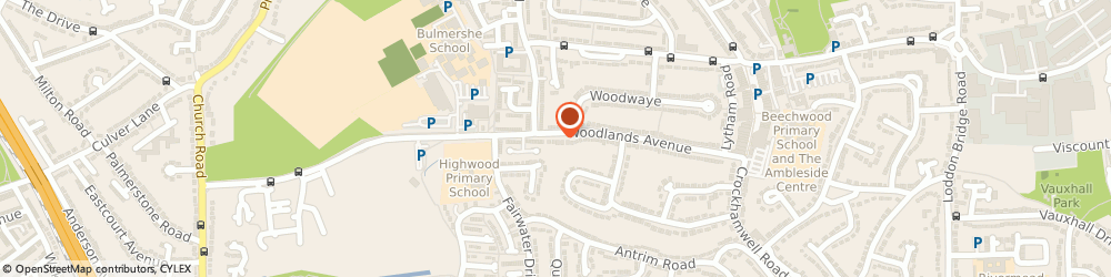 Route/map/directions to Susan Elizabeth Curtains, RG5 3HG Reading, 79 Woodlands Avenue