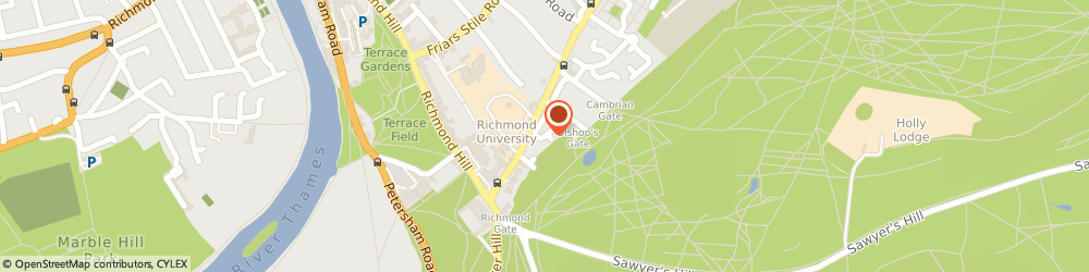 Route/map/directions to Richmond Hill Cars, TW10 6JG Richmond, 36 Hobart Pl