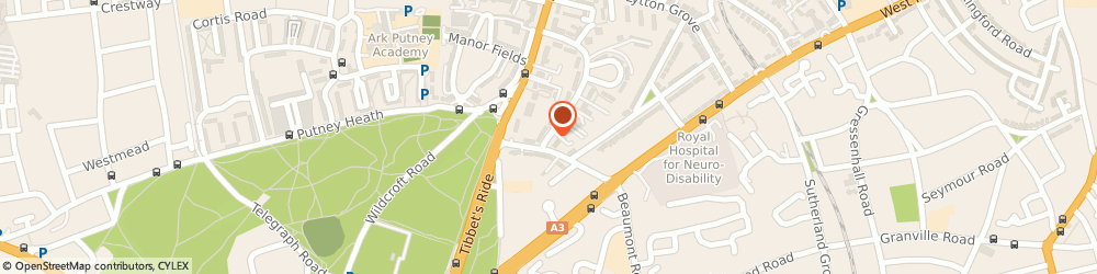 Route/map/directions to PONTES MAN & VAN, SW15 3JW London, 31 Kersfield Rd