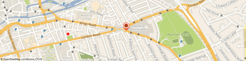 Route/map/directions to Options Mortgage Services, RG6 1JG Reading, 6-8 Wokingham Rd