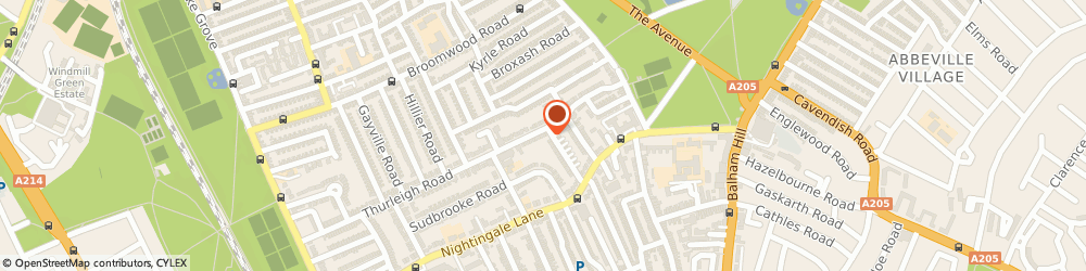 Route/map/directions to Ms Sylvia Gurr - Psychotherapist, SW12 8TT London, Clapham London,