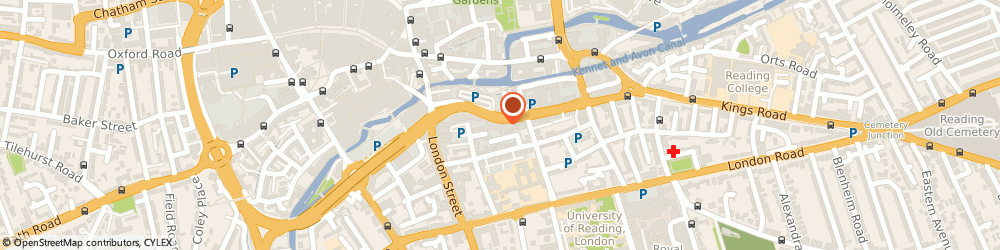 Route/map/directions to Accession Healthcare Consulting Limited, RG1 4AU Reading, 32 QUEENS ROAD