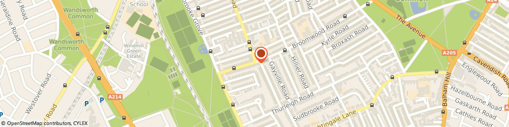 Route/map/directions to AJ Sports, SW11 6HU London, 61 Broomwood Road