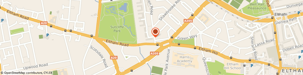 Route/map/directions to AARP LIMITED, SE9 6AU London, 13 Harris Lodge, 5 Dowding Drive