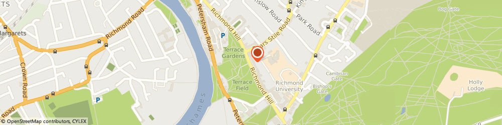 Route/map/directions to The Firm, TW10 6UB Richmond, 84 Hill Rise, Richmond Hill