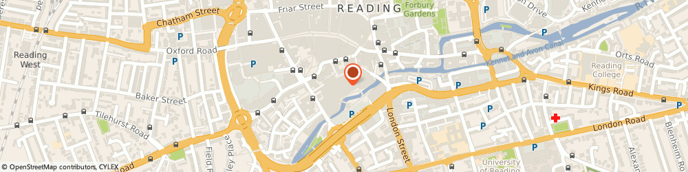Route/map/directions to Sunglass Hut, RG1 2AQ Reading, Unit 24, Holybrook Mall