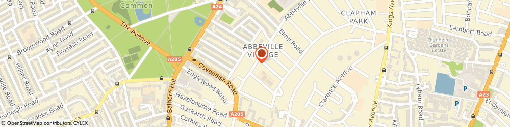 Route/map/directions to The Abbey, SW4 9LA London, 27 ABBEVILLE ROAD