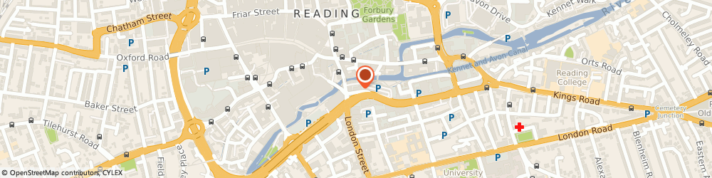 Route/map/directions to Orh Operational Research in Health Limited, RG1 4AR Reading, 3 Queen's Road