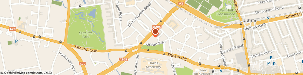 Route/map/directions to Affordable Removals & Storage Ltd, SE9 6DH London, 514 Westhorne Avenue