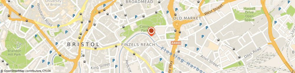 Route/map/directions to Chef Agency ltd, BH1 1BL Bournemouth, Chef Site Bristol & West House, Post Office Rd