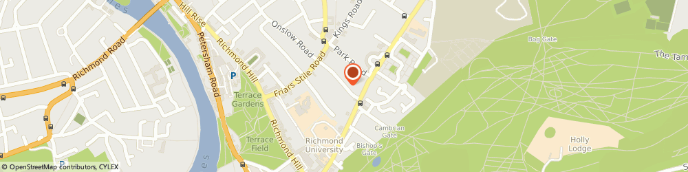 Route/map/directions to Kelvin Court Property Management Company Limited, TW10 6JS Richmond, 5 KELVIN COURT, MARLBOROUGH ROAD