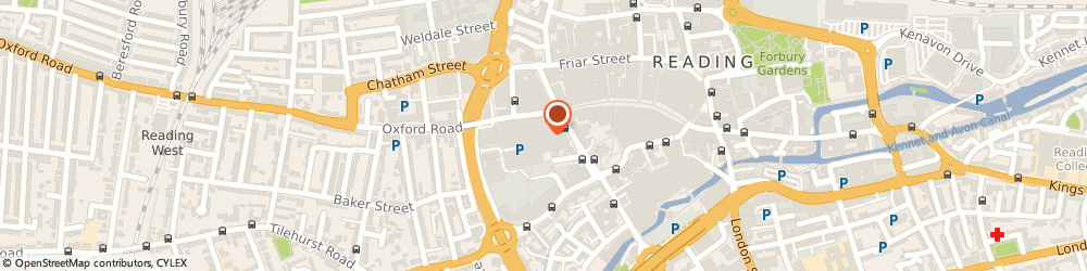 Route/map/directions to Warranty Direct Ltd READING, RG1 7QE Reading, Quadrant House, 20 Broad Street Mall