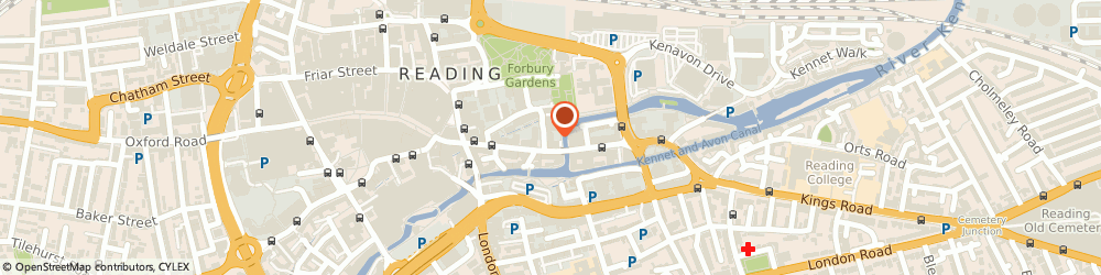 Route/map/directions to Huntswood Outsourcing, RG1 3BA Reading, 4 Abbey St