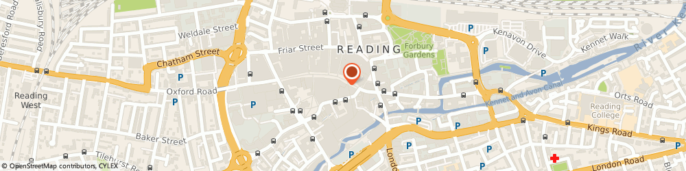 Route/map/directions to Fat Face, RG1 2BD Reading, 123 Broad Street
