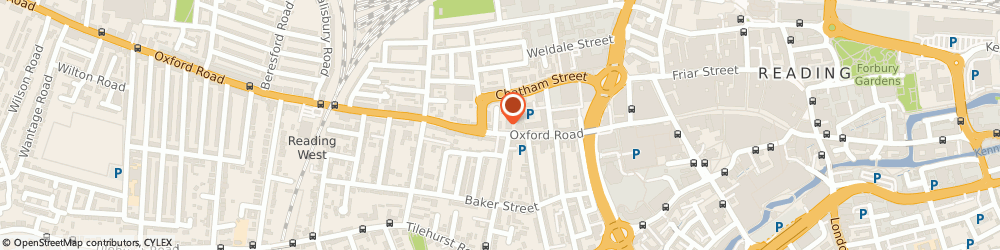 Route/map/directions to K J Mortgage Services Ltd, RG1 7NG Reading, 118b Oxford Rd