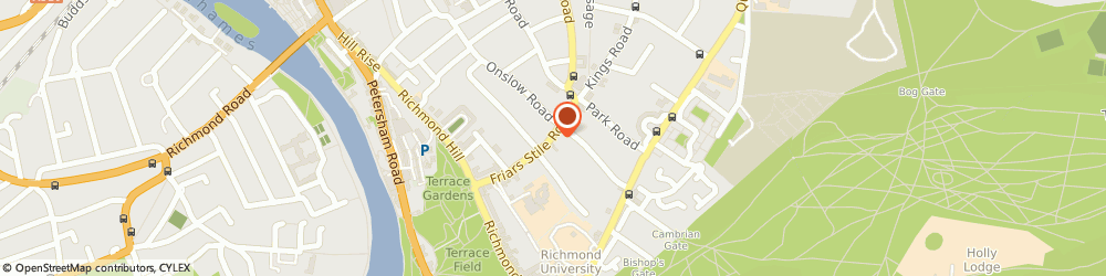 Route/map/directions to UPS Solutions Logistics, TW10 6NQ Richmond, Friars Stile Road, 46B