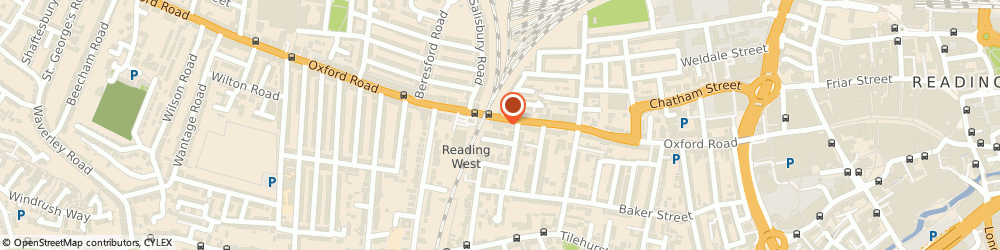 Route/map/directions to M.t.c Motor Cycles, RG1 7PY Reading, 269-271 Oxford Rd
