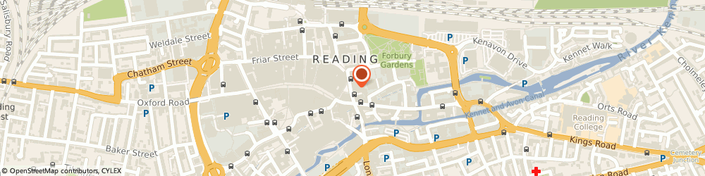 Route/map/directions to AlphaIT, RG1 2EG Reading, 6-8 Market Place