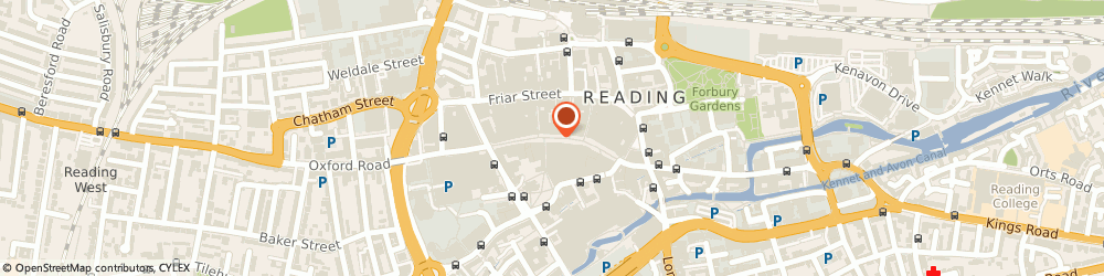 Route/map/directions to Ivy Bloom, RG1 7QE Reading, Broad Street Mall