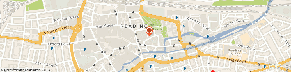 Route/map/directions to Mentor Europe, RG1 3EU Reading, Davidson House, Forbury Square