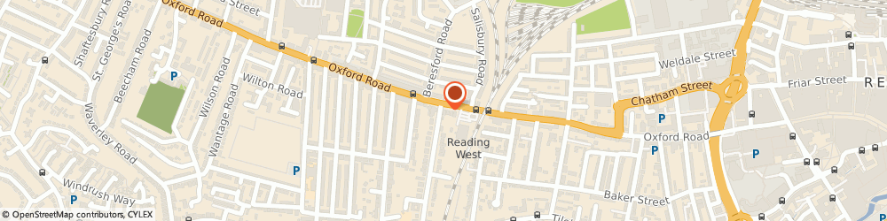 Route/map/directions to Elmbank Mortgage Services, RG30 1AU Reading, 303 Oxford Road