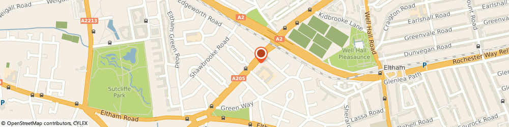 Route/map/directions to The Wine Merchant, SE9 6DR London, 552, WESTHORNE AVENUE