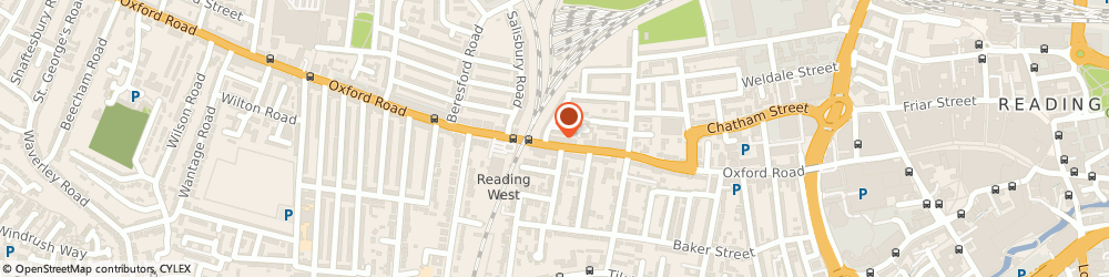 Route/map/directions to Chequecashing, RG1 7PL Reading, 176 OXFORD ROAD