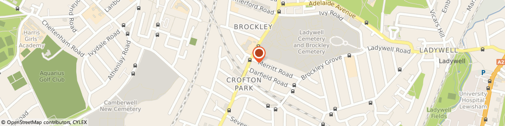 Route/map/directions to Paraphernalia-Online, SE4 2AG London, 365 BROCKLEY ROAD