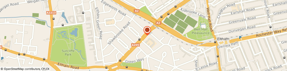 Route/map/directions to Steven Eastop, SE9 6DN London, 575 WESTHORNE AVENUE