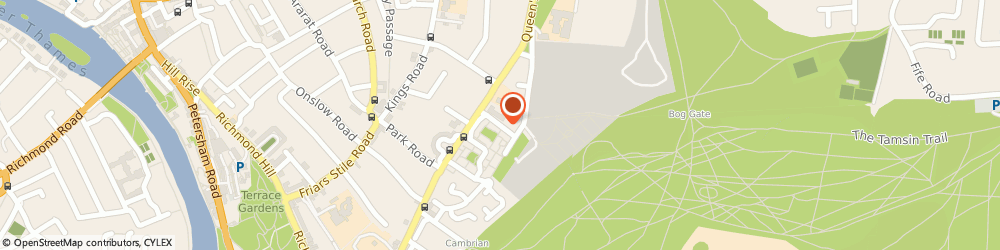 Route/map/directions to Greville House Care Home in Richmond, TW10 6HR Richmond, Greville Road