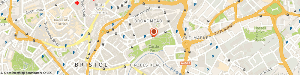 Route/map/directions to Independent Living Simplyhealth, BS1 3XD Bristol, The Galleries