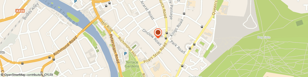 Route/map/directions to Titledeed Limited, TW10 6QH Richmond, The Studio, 17, Onslow Road